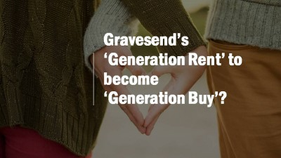 Gravesend's 'Generation Rent' to Become 'Generation Buy'?