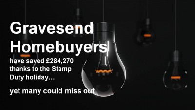 Gravesend Homebuyers Have Saved £284,270 Thanks to the Stamp Duty Holiday – Yet Many Could Miss Out