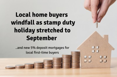 Gravesend Home Buyers £3,376,374 Windfall as Stamp Duty Holiday Stretched to September…